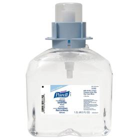 Purell Hand Sanitizer: Foam, For Purell FMX-12, Advanced, 1,200 mL Container Size, Fragrance Free, 3 PK