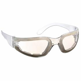 Radians Safety Glasses: Clear Mirror, Full Frame, Anti-Fog, Clear, ANSI Z87.1, Polycarbonate, Unisex, 70 Haz Material Indicator