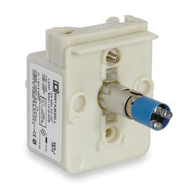 Schneider Electric Lamp Module with Bulb: Blue, For 24 V AC/24 V DC, Full Volt, Includes Bulb