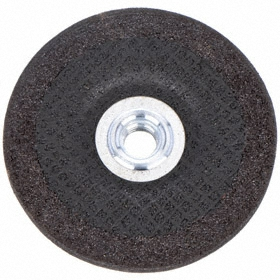 "Norton General Purpose Grinding Wheel: Extra Coarse Relative Grit Grade, 5 in Wheel Dia, 5/8""-11 Center Hole Thread Size"