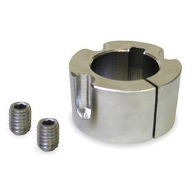 Taper Lock Bushing: 1 in Bore Dia, Steel, Std Keyway, 2517 Bushing Size, 1 3/4 in Overall Lg, 1/8 in Keyway Dp