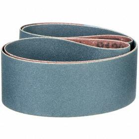 Abrasive Belt: Fine Relative Grit Grade, 2 in Belt Wd, 48 in Belt Lg, Backing Wt, 120 Grit, 120 - Fine Grit & Grade