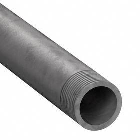Galvanized Rigid Steel Conduit (GRC): Hot Galvanized, 1/2 in Trade Size, 0.84 in Conduit OD, 0.66 in Conduit ID, Male