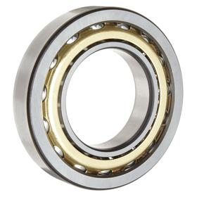 Angular Contact Ball Bearing: Metric, Steel, Open, 40° Contact Angle, 7304 Bearing Trade, 20 mm Bore Dia, 52 mm OD