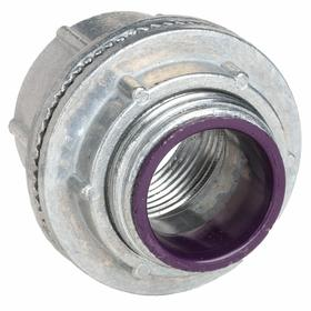 Hubbell Rigid Conduit Hub: Die Cast Zinc, 2 Trade Size, 1 7/8 in Overall Lg, Rigid Conduit/Threaded IMC, Insulated