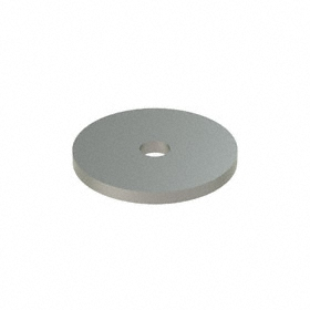 Oversized Flat Washer: 18-8 Stainless Steel, For 1/4 in Screw Size, 0.282 in ID, 1.5 in OD, 0.125 in Thickness