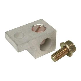 GE Panel Neutral Lug Kit: 200 A Current Rating, For GE PowerMark Gold Load Center, For 2/0 AWG Max Wire Size