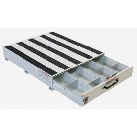 Weather Guard Truck Storage Drawer: 1 Drawers, 4 Compartments, 9 1/2 in Overall Ht, 39 3/4 in Overall Wd, 5 in Drawer Ht